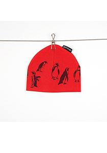 Pingvinmössa röd